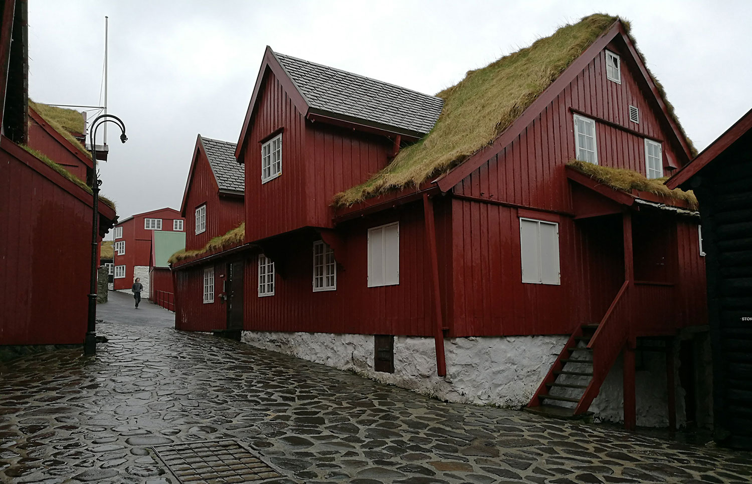 Faroe Island buildings