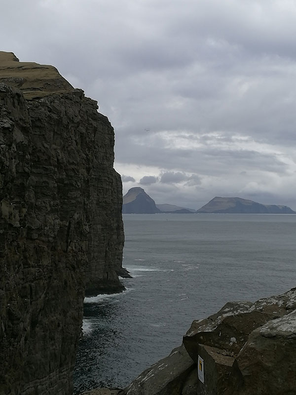 Faroe Island cliffs